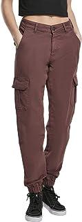 Urban Classics 女士高腰工装裤经典长裤