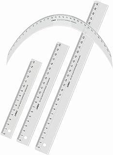 linex Flex 灵活尺子结实耐用 unkaputtbar 30 cm 透明