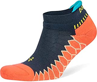 balega 银* no-show compression-fit 跑步短袜男式和女式