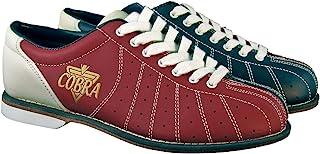 女式 TCR1L Cobra Rental 保龄球鞋 - 蕾丝红色/蓝色 8.5