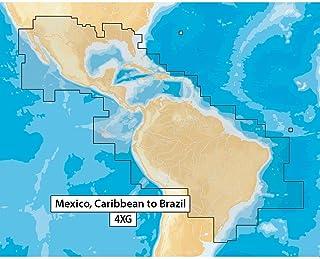 Navionics+ 墨西哥,加勒比海到巴西,黑色
