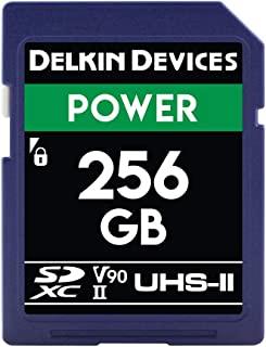Delkin Devices 256GB Power SDXC UHS-II (V90) 内存卡 (DDSDG2000256)