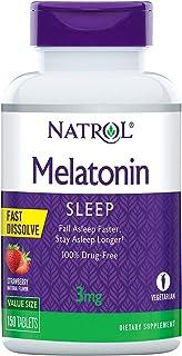 Natrol Melatonin 3mg Fast Dissolve Tablets, 150 Count