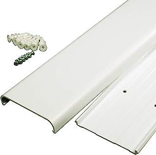 "Legrand - Wiremold CMK30 30 30 英寸平屏电视线套套件 - 壁装电视电缆遮蔽线套赛车套件隐藏电缆、电缆或电线 - 白色 ""Multi"" 1包 CMK30"