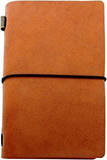 皮革日记本套装,旅行者笔记本,无衬里纸,共 60 页,书写日记,诗人,旅行者,作为日记或生活计划 - *好的周年纪念圣诞节送给丈夫礼物