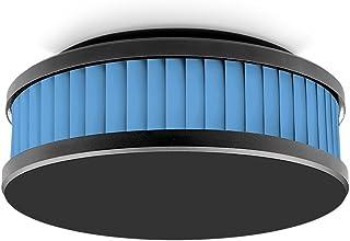 Pyrexx 4260236271834 PX-1C 12 年无线烟雾探测器(包括无线电模块),黑色 / 天蓝色 / 黑色,1件
