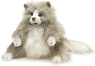 Folkmanis 多毛猫咪手偶