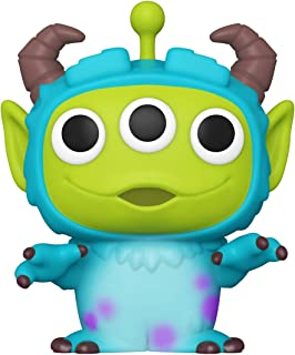 Funko 48362 POP Disney:Pixar-Alien as Sulley 周年纪念收藏玩具,多色