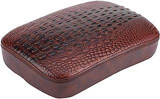 后亿乘客座椅,摩托车 PU 皮革吸盘后亿乘客垫座椅,适用于浮子切碎机(#5)