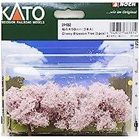 KATO N轨距 樱花木50mm 3个装 24-082 立体模型用品