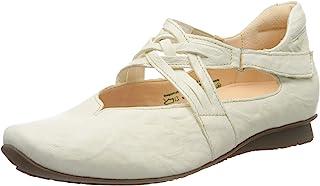 思考! 女士 686108_Chilli 系带芭蕾舞鞋