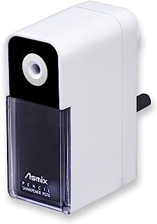 Aska(Asmix) 铅笔削笔器 附笔头调整功能 PS70 白色