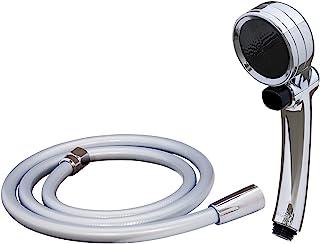 Takagi (Takagi) 节水 淋浴喷头 空气节拍器 电镀 手动STOP JSB122M 无需工具 简单