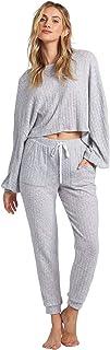 Billabong 女式舒适海岸针织裤