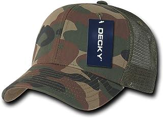 DECKY 棉质 Curve Bill 卡车司机帽