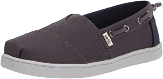 TOMS 男童 Bimini 帆布鞋