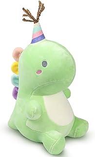 Dedall 可爱填充恐龙玩具,柔软的毛绒动物枕头填充玩具,恐龙毛绒 9.0 英寸(约 23 厘米),送给儿童婴儿、幼儿、成人的*礼物(*)