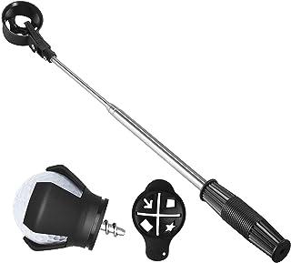 AEUNZN 高尔夫球猎犬,不锈钢伸缩高尔夫球猎犬,适用于高尔夫球杆,高尔夫配件,高尔夫球手礼品