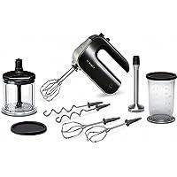Bosch 博世 优质手持式搅拌器套装 MFQ4885DE(575W,适用于洗碗机,2对打蛋器,XL通用切碎机,多样化搅…