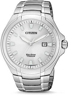 Citizen 西铁城 男士 指针式石英手表 钛表带 BM7430-89A