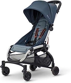 Quinny 1312760000 LDN 婴儿车,适合6个月至约3.5岁(0-15千克),单手折叠,超紧凑设计,石墨扭转,黑色
