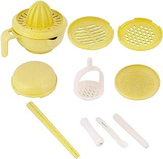 9 件婴儿食品制作机,手动食物研磨碗,适用于婴儿喂食(*)