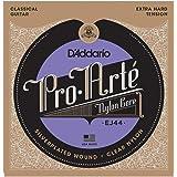 D'Addario 经典吉他弦 Pro Arte Silver/Clear Extra Hard EJ44