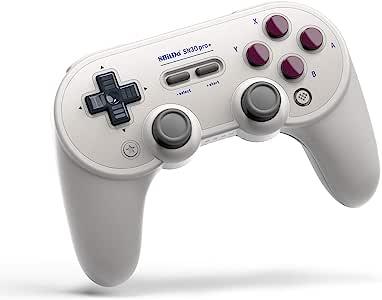 8Bitdo SN30 Pro+ 无线蓝牙游戏手柄 适用于 Nintendo Switch、Windows、macOS、Android、Raspberry Pi (G 版) (Nintendo Switch/)
