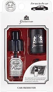 Grandence卡清新剂 古香玫瑰 10毫升(车用芳香剂 开衫 2-3个月 日本制造)