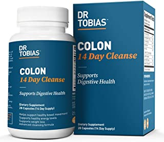 Dr. Tobias Colon: 14 Day Quick Cleanse to Support Detox, Weight Loss 14天快速 2瓶 28天用量 美国直邮 包邮包税