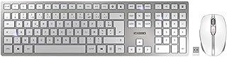 CHERRY TAS DW 9000 Slim 法式版 银色 白色