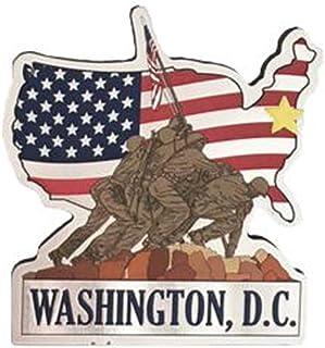 华盛顿特区之都伊沃·吉马美国国旗金属冰箱磁贴