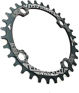 VXM 椭圆形 96BCD 链环 窄 宽链 32T/34T/36T/38T 适用于 XT M7000 M8000 M9000 自行车配件 MTB 自行车曲柄链轮