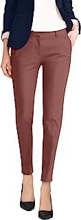 HyBrid & Company 女式优质弹力全天舒适无褶长裤