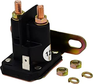 Notonparts 812-1201-211 812-1211-211 12V 电磁继电器开关 3 端子 93265-19 93265-1WR 93265-WR 兼容特洛姆贝塔兼容与 Mtd 兼容 ATV 多功能汽车