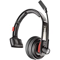 Plantronics 缤特力 Voyager 104 蓝牙耳机,头戴式耳机,带麦克风,适合卡车和卡车