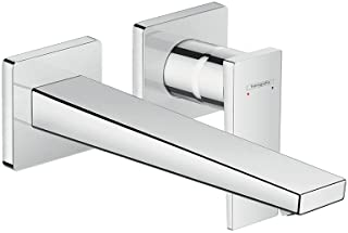 Hansgrohe 汉斯格雅 Metropol 单杆洗手台,暗装,墙面安装,镀铬 铬白 Auslauflänge 225mm 32526000