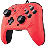 PDP Nintendo Switch Faceoff Deluxe+ 音频有线控制器 红色迷彩