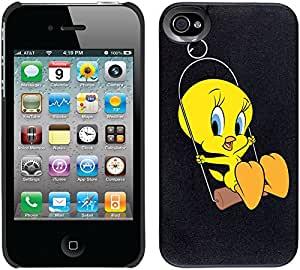 Coveroo Thinshield 可扣合式手机壳适用于 iPhone 4/4s - Tweety Swing。