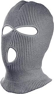 SUNTRADE 3 孔保暖柔软摩托车冬季*罩针织滑雪面罩适用于户外运动