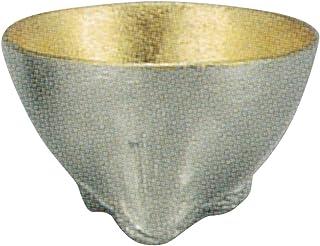 能作 干支杯 辰 金箔 H3.8cm φ6.0cm 约50cc 锡 含包装盒 日本制造 600083/酒器 酒盅