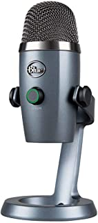 Blue Microphones Yeti Nano USB 电容器 麦克风 Shadow Gray 极光 阴影灰 BM300SG 国内正规品 两年厂家保修