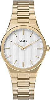 CLUSE 女式模拟石英手表不锈钢表带 CW0101210002