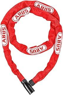 ABUS 自行车 钥匙 锁 公路自行车钥匙 链条锁 | 110厘米 红色 [4804K]