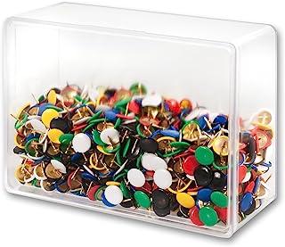 Victory Office Products 30KP1000-99 图钉 1000 件 塑料封装,彩色混合