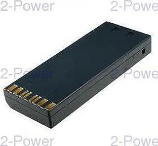 2-Power VBH9601A 12 V 摄像机电池 - 黑色