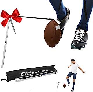 SterlaTech 足球踢球支架球门踢球支架适用于所有足球和尺寸 - 球门踢球支架 - 足球 T 恤 - Accu Kick Pro