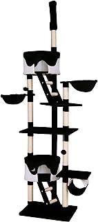猫爬架猫咪树活动中心划痕柱 XXL 天花板高 240-260 厘米
