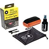 #1 记录清洁套件 - 完整的 4 合 1 乙烯基清洁解决方案,包括天鹅绒记录刷、XL 清洁液、手写笔和旅行袋! 不会划…