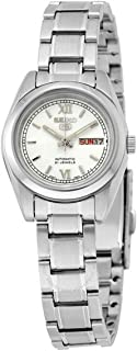 Seiko Women's 5 Automatic SYMK23K Silver Stainless-Steel Automatic Fashion Watch